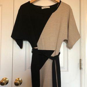 Trina Turk merino wool dress.